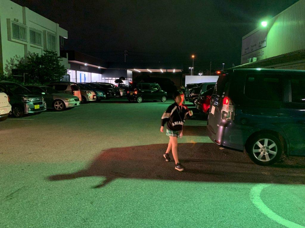 PETBOX駐車場