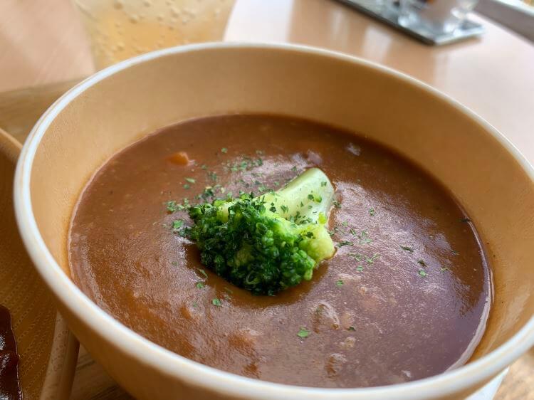 『SOUP SOUP』のデミグラススープ