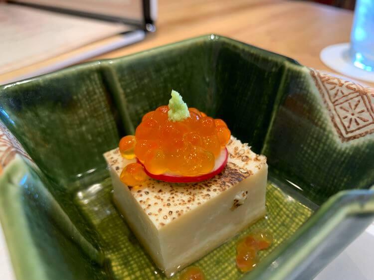 焼目長芋豆腐