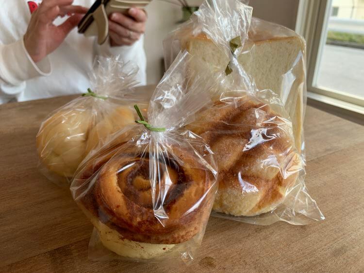 北谷町のyokodaパン工房のパン